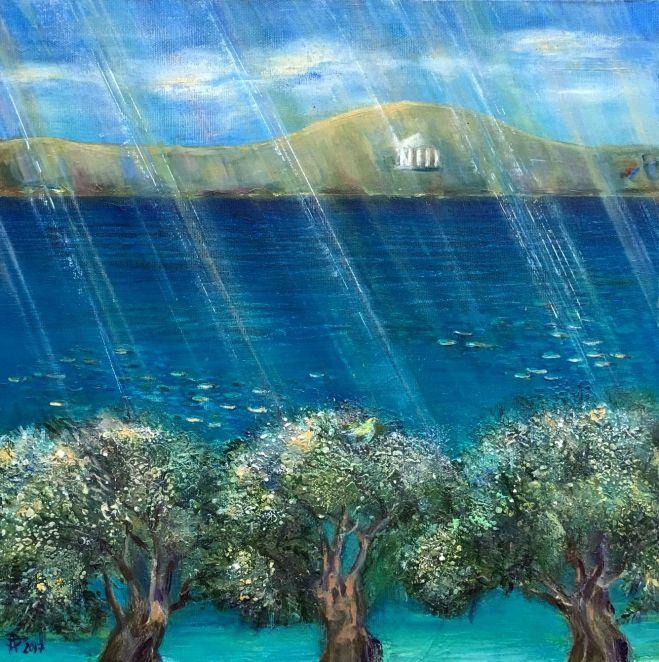 le rivage de Pilion